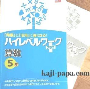 ポピーハイレベルワークプラス数学5年生版